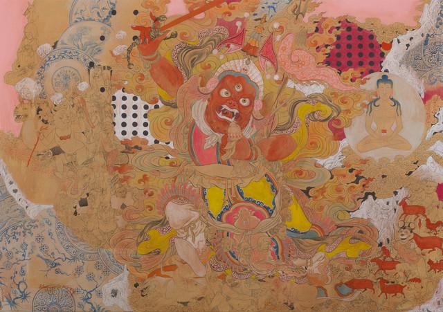 , 'Red Hero,' 2016, Jack Bell Gallery