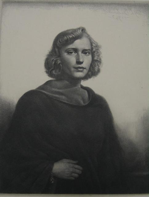 , 'The Black Coat,' 1943, Paramour Fine Arts