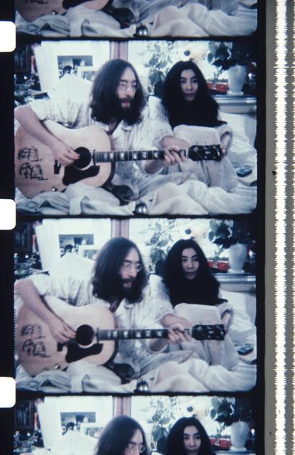Jonas Mekas, 'John & Yoko BED-IN FOR PEACE', 2013, Photography, Archival Photographic Print, Deborah Colton Gallery