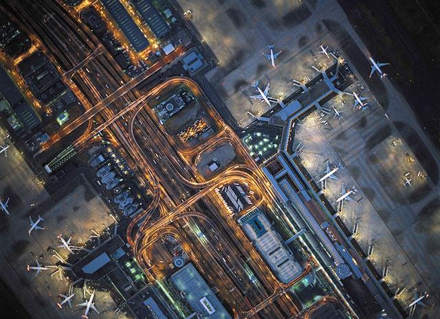 , 'Aerial Views Curves Haneda,' 2010, aQur Gallery