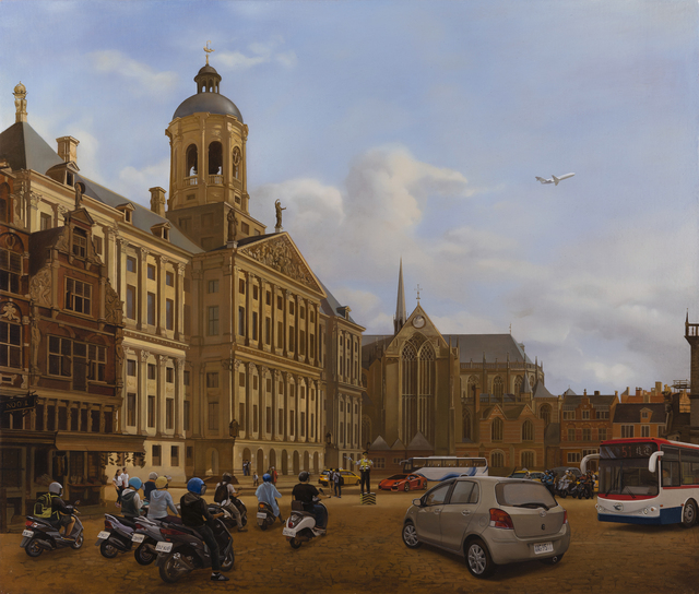 , 'Traffic in 17th Century Amsterdam,' 2015, Artemis Art