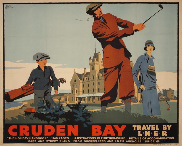 , 'Cruden Bay - English Travel LNER - Golfing,' ca. 1930, Omnibus Gallery