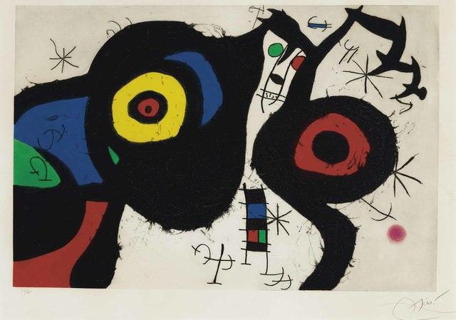 Joan Miró, 'Les Deux Amis', 1969, Christie's