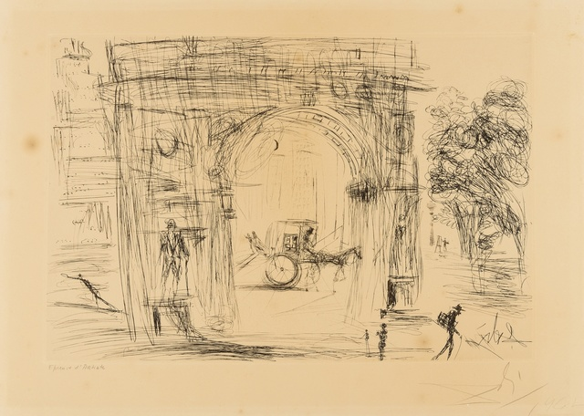 Salvador Dalí, 'Washington Gate (M & L 113c; Field 64-3B)', 1964, Forum Auctions