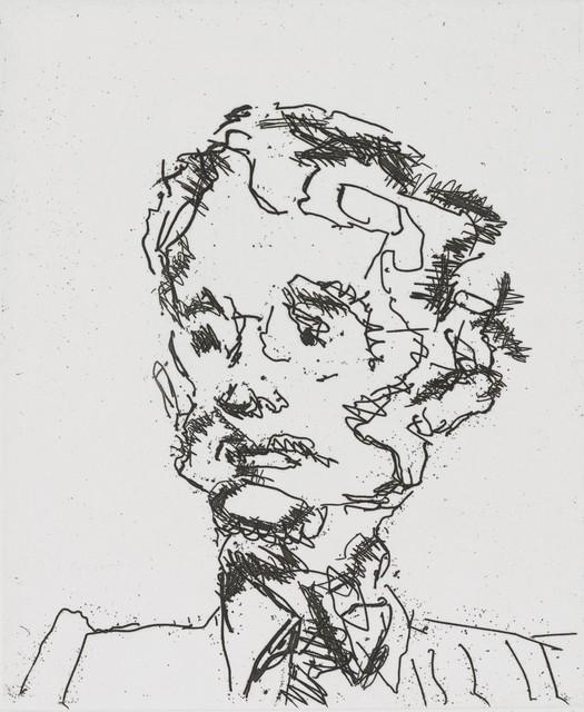 , 'Geoffrey ,' 1990, Castlegate House Gallery