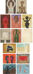 Rufino Tamayo, '15 Aguafuertes: 14 plates,' 1975, Phillips: Evening and Day Editions