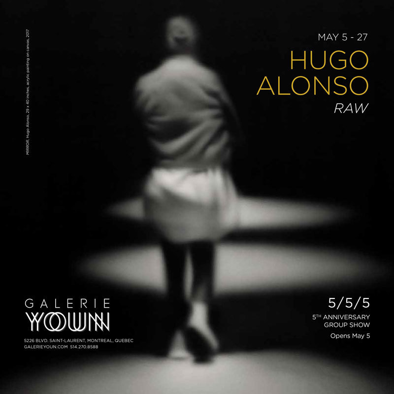 Hugo Alonso on Art Forum ad