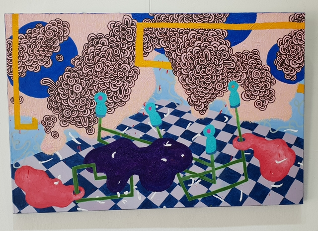 , 'Suspended Instincts 9,' 2018, Di Legno Gallery