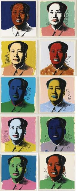 Andy Warhol, 'Chairman Mao (F&S II. 90-99)', 1972, Robin Rile Fine Art
