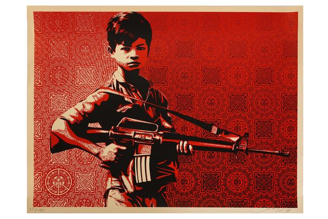 Shepard Fairey, 'Duality of Humanity 4', 2008, Chiswick Auctions