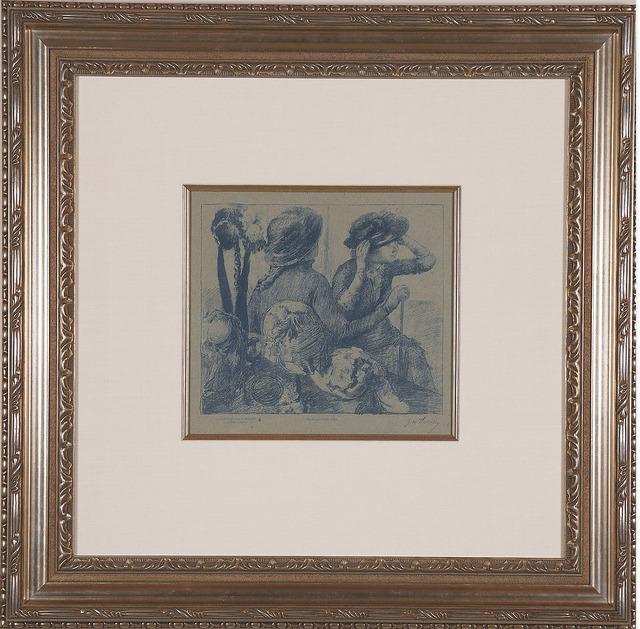 Edgar Degas, 'Chez la Modiste', C. 1888-1889, Acquisitions Of Fine Art