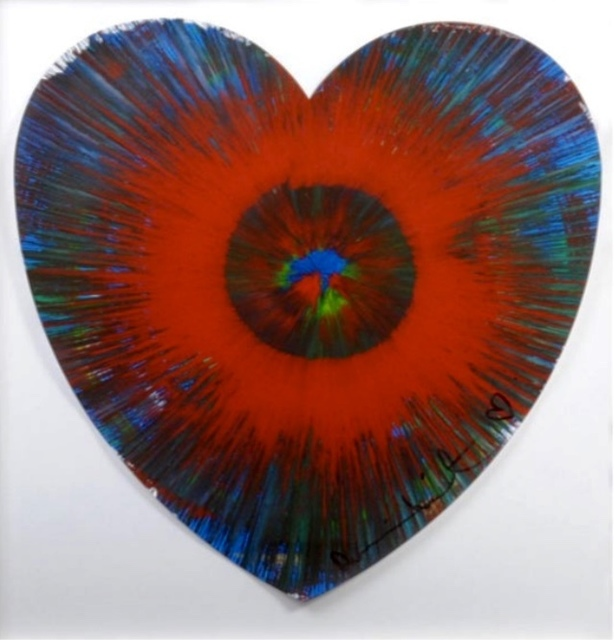, 'Untitled spin (Heart) Unique,' 2009, Art Jed Gallery
