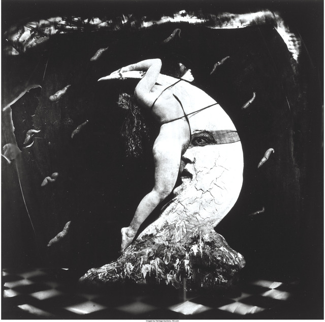 Joel-Peter Witkin, 'Woman Masturbating on the Moon', 1982, Heritage Auctions