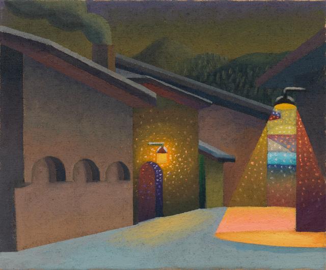 , 'Sera in Engadina, Zuoz,' 2011, Galerie Andrea Caratsch