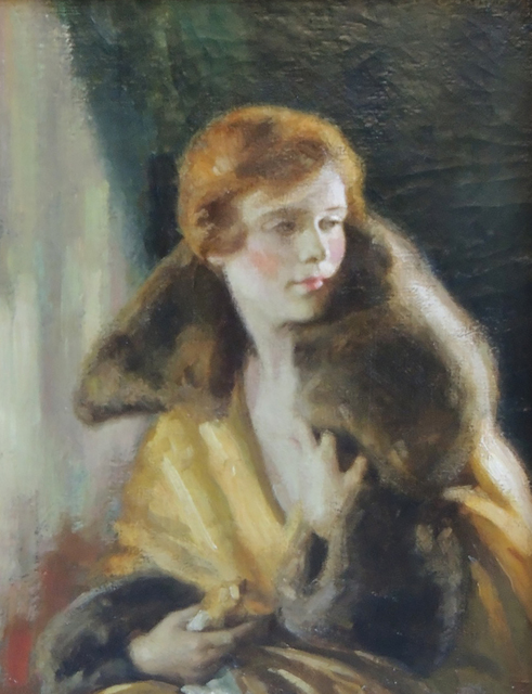 Edna Crompton, 'February 1925 Redbook Magazine Cover', 1925, The Illustrated Gallery