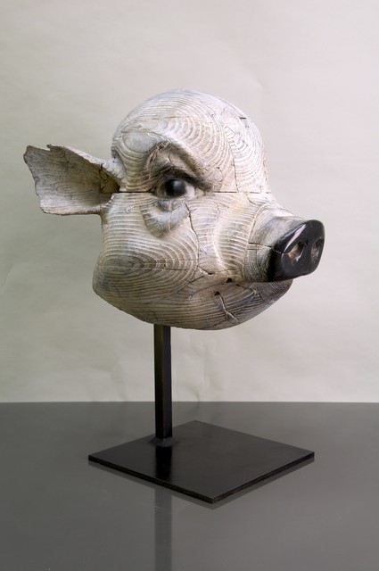 , 'Mask of the Pig ,' 2017, Mazel Galerie