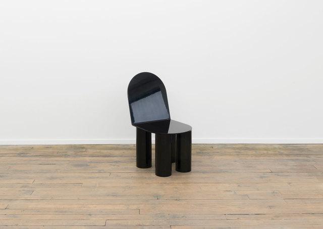 Ania Jaworska, 'Unit 5 (Side Chair)', 2016, Design/Decorative Art, Lacquered wood, aluminum, padding, Volume Gallery