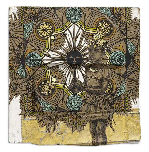 Swoon, 'Edline', 2015, Roman Fine Art