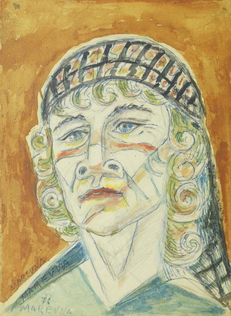 Marie Vorobieff Marevna, 'Self portrait of the artist', 1977, Roseberys