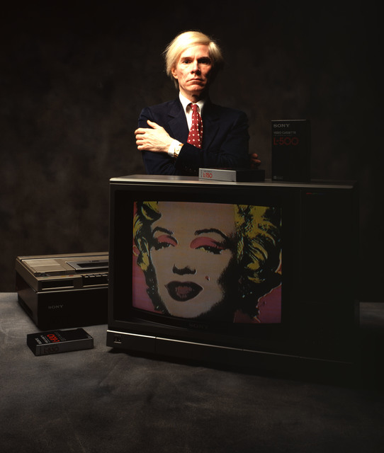 , 'Andy Warhol with Marilyn,' 1981, CAMERA WORK