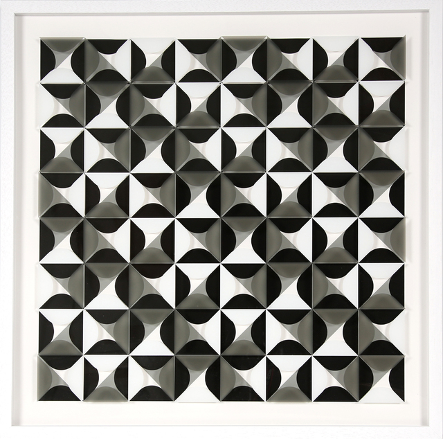", '""Komposition 607"",' 2017, Galerie-F"