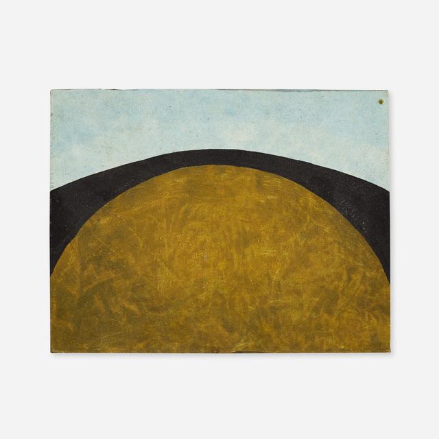 Mac Wells, 'Moonrise #2', 1964, Painting, Oil on panel, Rago/Wright