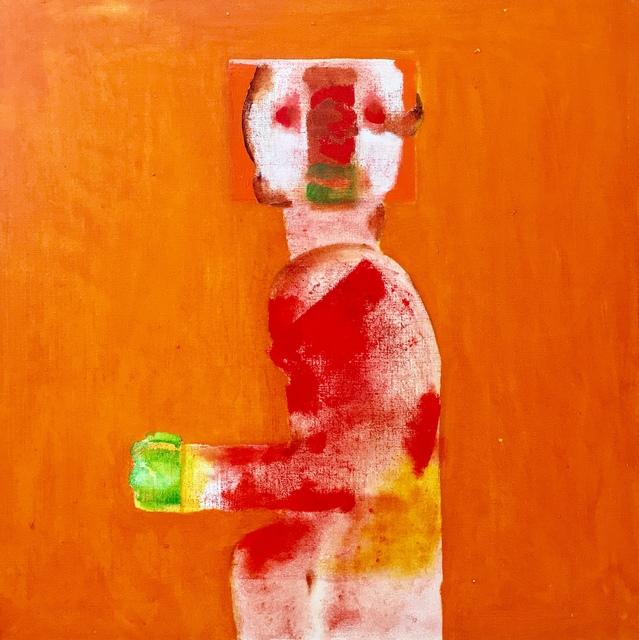 , 'Aztec figure,' 2007, Absolut Art Gallery