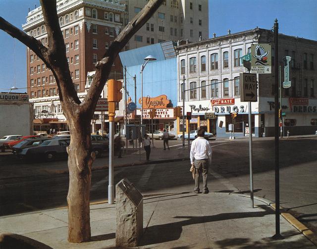 , 'El Paso Street, El Paso, Texas 7/5/1975,' 2000, CONRADS