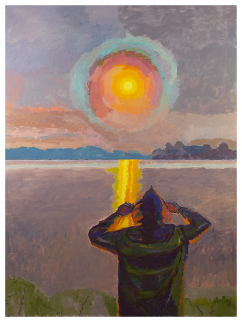 Graham Nickson, 'Yellow Rise: Sun Watcher', 2017, Betty Cuningham