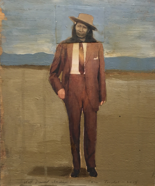 , 'Well-Dressed Indian,' , Stremmel Gallery