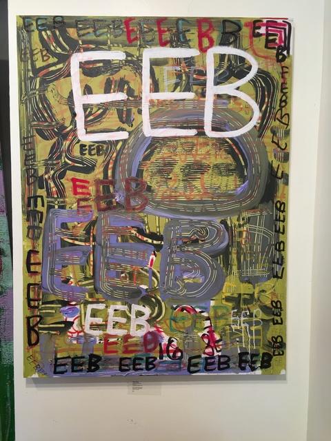 , 'EEB,' 2016, Corcoran Fine Arts