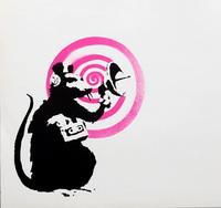 Banksy, Banksy Radar Rat vinyl record art