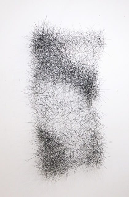 , 'Graphite Wall Cloud (vertical),' 2017, Beatriz Esguerra Art
