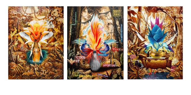 , 'Beta dance flower series,' 2018, Chan + Hori Contemporary