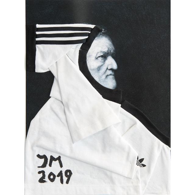 , 'ÜBER-RICHARDDADDY JACKE DE LARGE (#3, white),' 2019, LRRH_