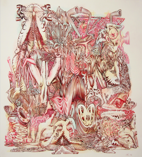 James Esber, 'Untitled (Red Heap)', 2006, moCa Cleveland: Benefit Auction 2019