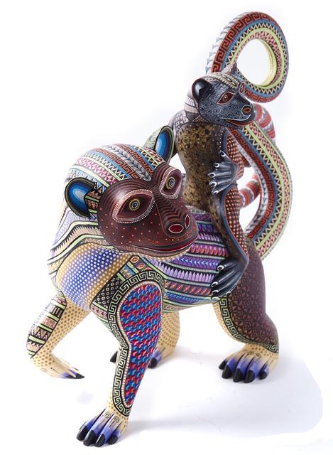 , 'Madre e Hijo / Woodcarving Alebrije Mexican Folk Art Sculpture,' 2017, Cactus Fine Art