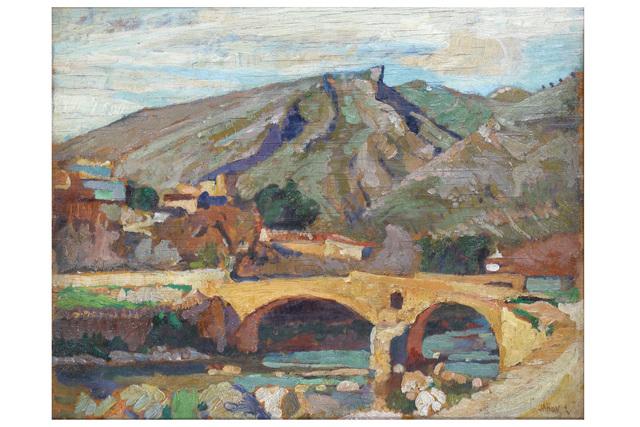 JOHN ANTHONY PARK, 'Sketch for Roman Bridge in Mallorca', Chiswick Auctions