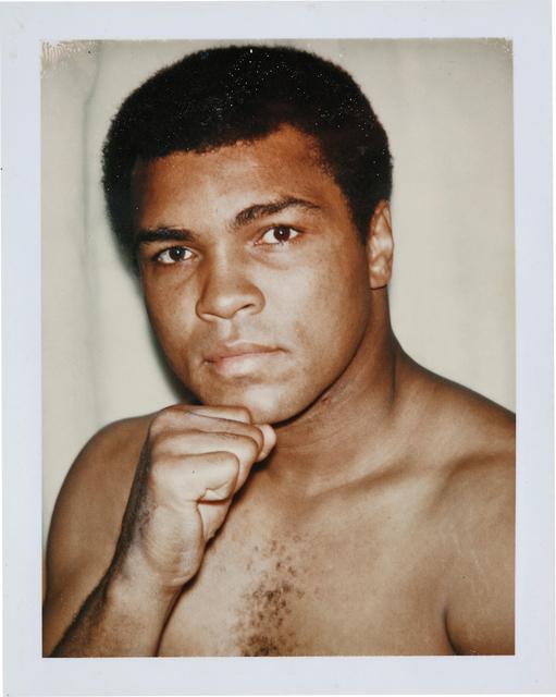 Andy Warhol, 'Muhammad Ali', 1977, Photography, Polaroid print, Phillips