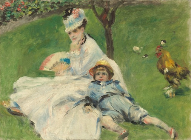 , 'Madame Monet and Her Son,' 1874, Seattle Art Museum