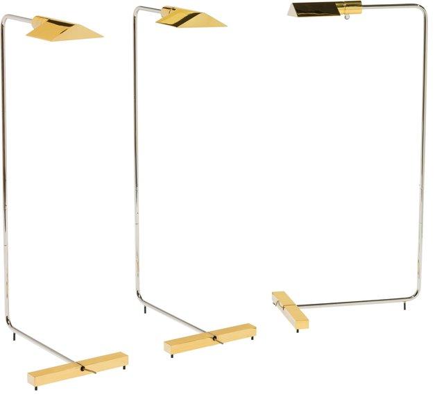 Cedric Hartman, 'Three Floor Lamps Brass', Heritage Auctions