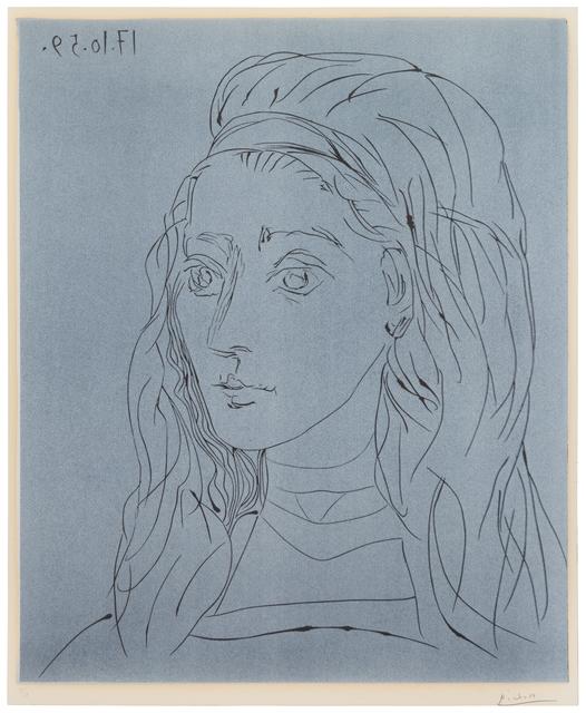 Pablo Picasso, 'Jacqueline', 1959, Hindman
