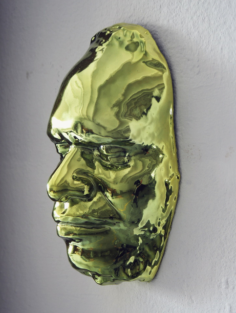 , 'Face mold of an unknown Tasmanian, Otto Finsch around 1879 (form 5462),' 2007, Mai 36 Galerie