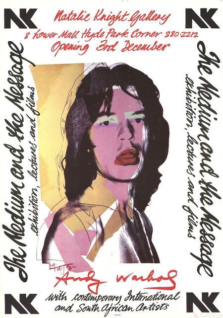 Andy Warhol, 'Mick Jagger', 1974, ArtWise