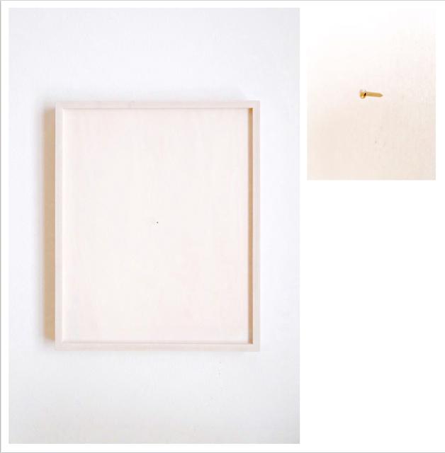 , 'Lo spazio punto,' 2015, Galleria FuoriCampo