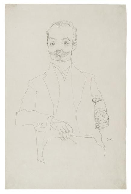 , 'The Printer Sigmund Rosenbaum,' 1910, Galerie St. Etienne