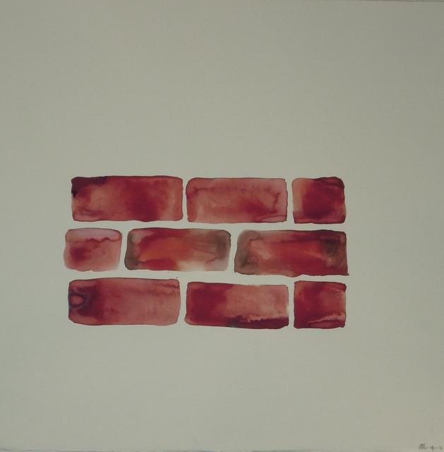 , 'Untitled (Bricks I),' 2016, Taymour Grahne