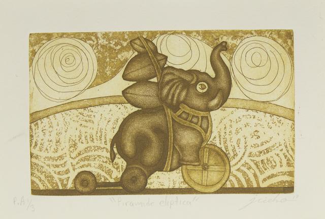 Isidro Fabián, 'Pirámide elíptica', Bernardini Art Gallery & Auction House