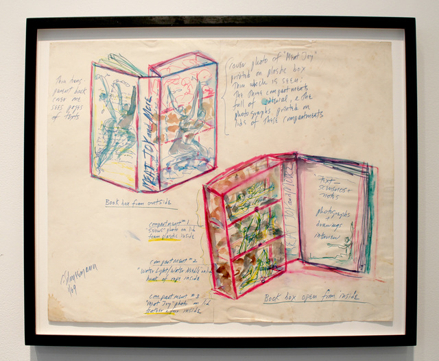 , 'Sketch for More Than Meat Joy,' 1969, P.P.O.W
