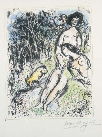 Marc Chagall, 'Country Idyll', 1972, Robin Rile Fine Art